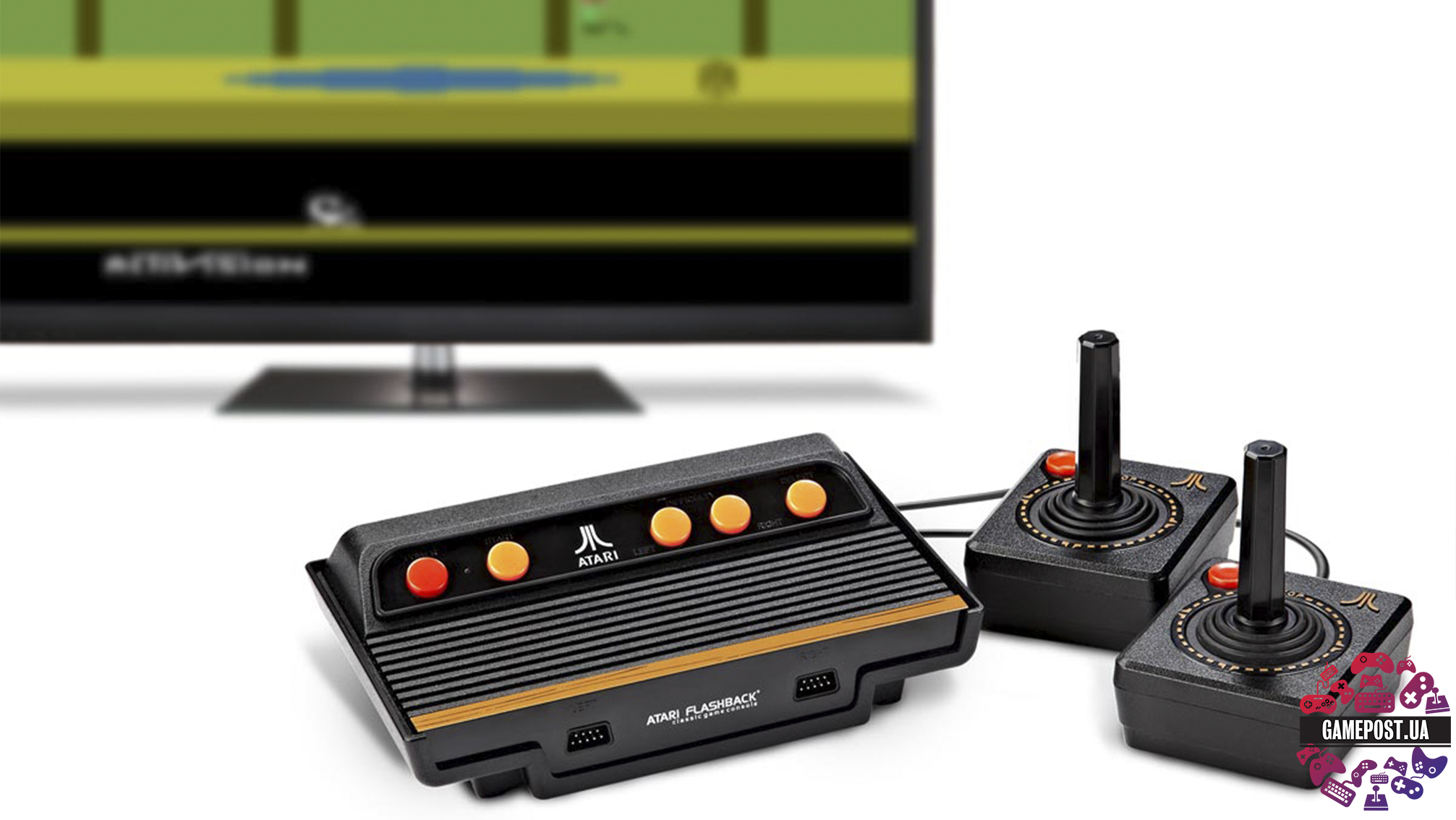 ATARI Flashback 7 Classic Gaming Console with 101 Games ...